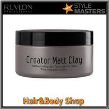 Cera capelli MATT CLAY Style Masters Revlon fissaggio forte finitura opaca DRAFT