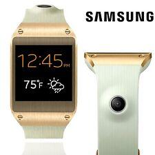 SAMSUNG Gear SM-V700 Smartwatch bianco oro acciaio inossidabile fibbia Fitness Tracker