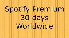 Spotify Premium / New / Worldwide / 30 Days
