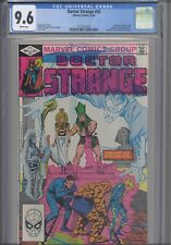 Doctor Strange 53 CGC 9.6 1982 Terry Austin Cover Fantastic Four 19 Cover Homage
