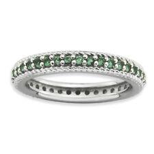 Anelli di lusso con gemme in pietra principale smeraldo Misura anello 7