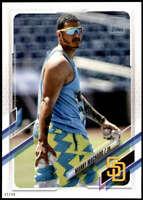 Manny Machado 2021 Topps 5x7 Variation Short Prints #192 /49 Padres