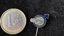 Volvo Anstecknadel Badge Volvo Schriftzug silber auf blau