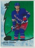 2019-20 Upper Deck Ice Green 37 Jacob Trouba New York Rangers
