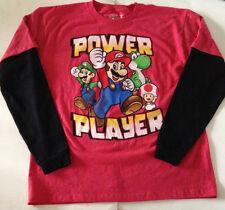 Nintendo's SUPER MARIO T- Shirt  Youth Size XXL 18/20 Luigi YOSHI Toad
