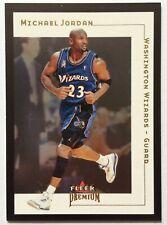 Michael Jordan 2001-02 Fleer Premium #5 WASHINGTON WIZARDS