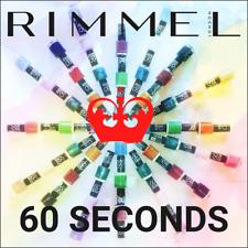 RIMMEL LONDON - vernis à ongles 60 SECONDS 60 secondes - 8 ml - Nail polish