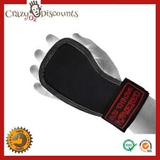 WEIGHT LIFTING TRAINING STRAPS GRIPS GLOVE WRIST PALM GYM CROSSFIT LIFTING MMA