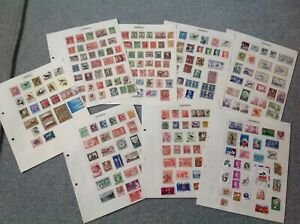 Australia Stamps-Some Old Stamps, 8 Pages Breaking Old Album