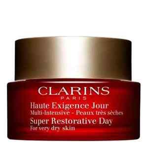 Clarins Super Restorative Day 50ml Sahne Schnelle DHL