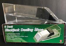 Nib Blackjack Dealing Shoe - 6 Deck