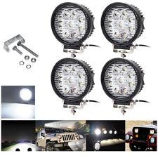 4X 27W LED Arbeitsscheinwerfer 12V 24V Offroad Scheinwerfer Traktor Bagger SUV