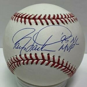 Reds WS Champ BARRY LARKIN Signed Official MLB Baseball AUTO w/ '95 NL MVP - JSA