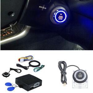 Keyless Entry Car Alarm Engine Starter RFID Control Security System Anti Theft