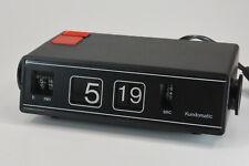 Kundomatic 2000 schwarz Wecker Uhr Vintage Retro NEU/OVP Rarität NOS; K71