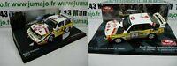 Lot 2 1/43 IXO Rallye : AUDI Sport QUATTRO rallye E1 E2 RÖHRL 1985