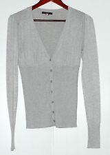 Gilet cardigan gris LOUISE OROP Taille S-M Très bon état