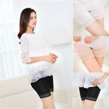 Women Underpants Lace Tiered Short Shorts Under Safety Pants Underwear Shorts