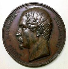 Napoleon Bonaparte Medal 1848 Election 拿破侖 法國總統