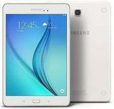 "Samsung Galaxy Tab A, 8"" 16GB WiFi White 1.2Ghz Quad Core, 1.5 GB Ram SM-T350"