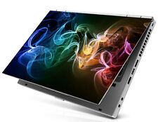 "17"" Laptop Notebook Skin Sticker Cover Art Dell Acer Hp abstract rainbow smoke"