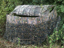 STEALTH GHOST camo net & CLEARVIEW JACK PYKE hide blind