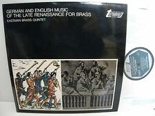 TV 37071S German & English Music Of The Late Renaissance For Brass Eastman Qntet