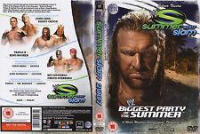 Official WWE SummerSlam 2007 DVD