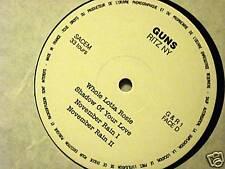 GUNS N' ROSES - RITZ NY-2 LP RARE-NO COVER-33 GIRI VINILE NUOVO