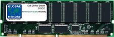 1gb Dram Memoria DIMM Para Cisco MCS 7835-1000 / mcs-7825-800 (mem-7835-1gb-133)