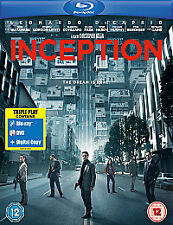 Inception Triple Play Blu Ray DVD Digital Nolan DiCaprio Hardy Murphy Page NEW
