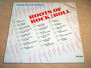 Roots Of Rock N Roll/1979 LP/Orioles/Johnny Ace/Dells/Fats Domino/Little Richard