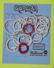 1979 Williams Gorgar pinball rubber ring kit