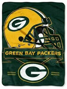 "Green Bay Packers Prestige 60"" x 80"" Royal Plush Blanket by Northwest"