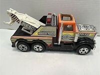 Vintage Buddy L Metal Emergency Rescue Force Police Department Truck