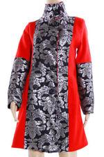 Cappotti e giacche da donna trench rossi bottone