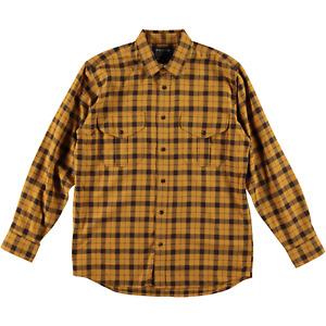 Filson Light Weight Alaskan Guide Shirt Gold Brown