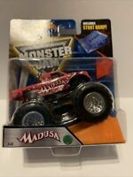 2016 Hot Wheels Monster Jam Truck MADUSA Brand New W/Stunt Ramp Special Edition