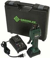 Greenlee EK50ML12011 Cordless Micro Crimping Tool Kit, 12mm Jaw, Battery Charger