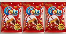 3 BAGS Dandys Dandy's Fizzy Cola Centerfilled Soda Hard Candy 4.2 oz Sparkling
