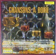 Chansons à boire  33 tours Les compagnons de la Barrique