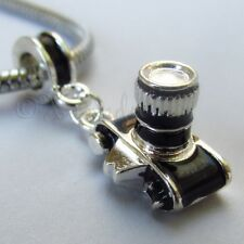 Photography Camera Large Hole Charm For Euorpean Charm Bracelets