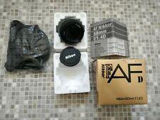 Nikon NIKKOR 50mm f/1.4 D  AF Lens Mint !