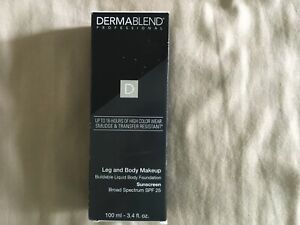 Dermablend Leg and Body Makeup Medium Natural 40N SPF25 Body Foundation NIB
