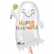 Amscan 14-inch/ 35cm Ghost With Candy Junior Shape Foil Balloons