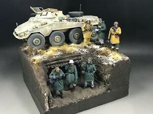1/35 Built Winter Trench Diorama Base