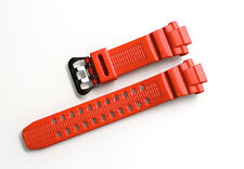 New Original Genuine Casio Wrist Watch Orange Band Replacement Strap GW-3000M-4A