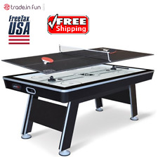 """Air Hockey Table Indoor Gametable Sports Activity Ping Pong Tennis Top Set 80"""""""