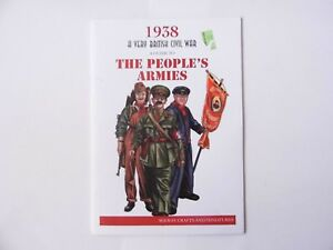 1938 THE PEOPLE'S ARMIES - WARGAMES RULES - NEW