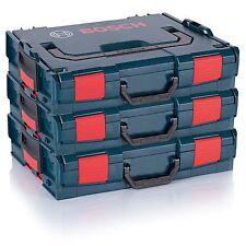 3er Pack BOSCH L-Boxx 102 (Gr.1) Leerbox Maschinenkoffer